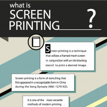 More information about Screen Printing Infographic