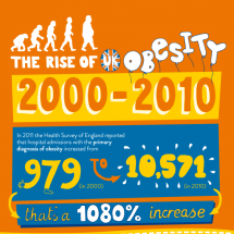 MoreLife Rise in (UK) Obesity Infographic