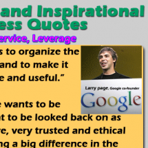 Most Inspirational Business Quotes & Best Motivational Life Quotes Infographic