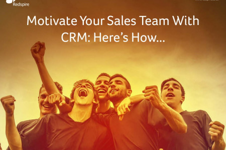 Motivate Your Sales Team With CRM: Here's How... Infographic