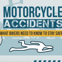 Motorcycle Accidents: What Bikers Need To Know To Stay Safe Infographic