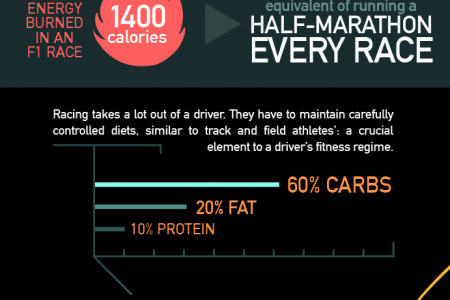 Motorsport Drivers: Athletes or just Athletic? Infographic