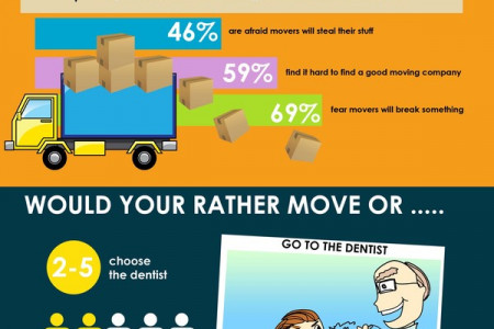 Movers in America Infographic