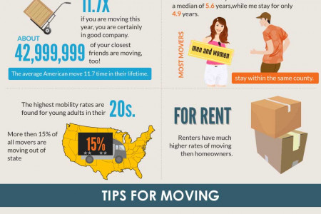 Moving & Storage Infographic