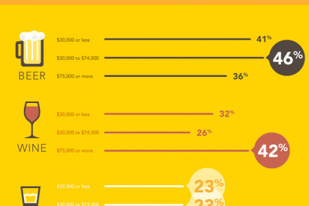 Moving Up The Financial Ladder Infographic