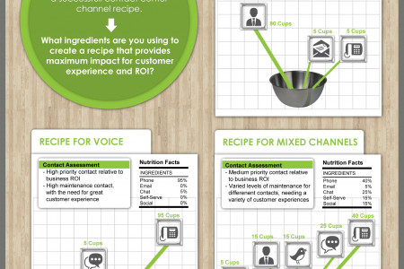 Multichannel Mix: What's the right mix for you? Infographic