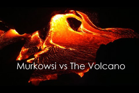 Murkowski vs The Volcano Infographic