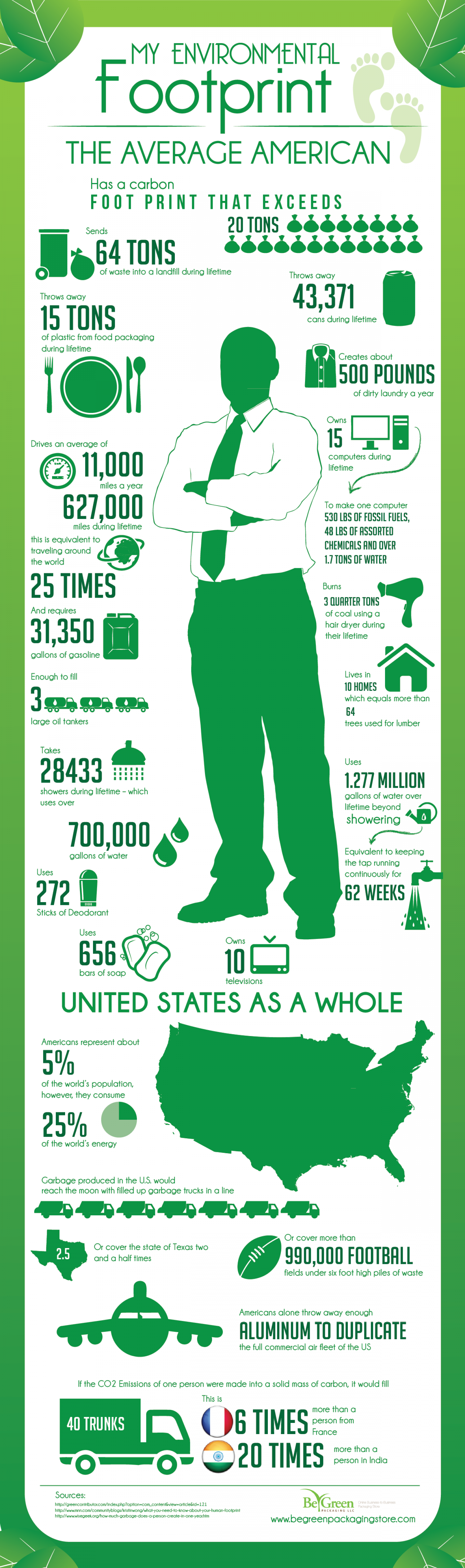 My Environmental Footprint Infographic