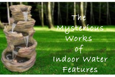 Mysterious Works of  Indoor Water Features Infographic