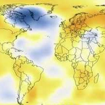NASA animation of temperature data from 1880-2011 Infographic