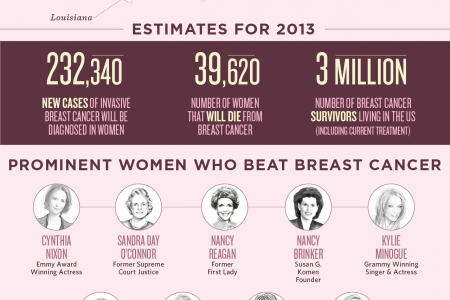National Breast Cancer Awareness Month 2013 Infographic
