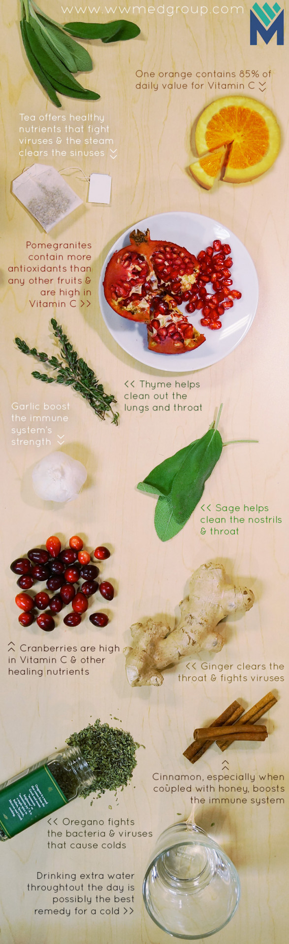 Natural Foods that Treat Colds