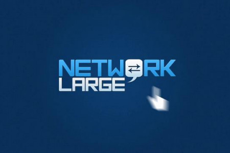 Network Large Infographic