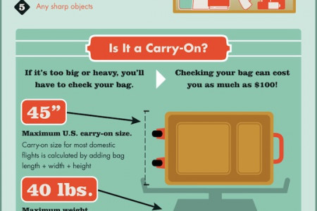 Never Lose Your Luggage: How To Travel With a Carry-On Every Time Infographic