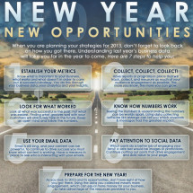 New Year, New Opportunities Infographic