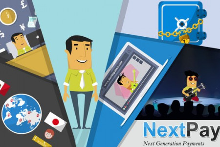 NextPay Online Credit Card Animated Video Infographic