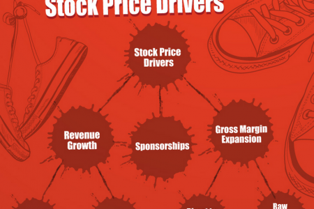 Nike Stock Price Drivers Infographic