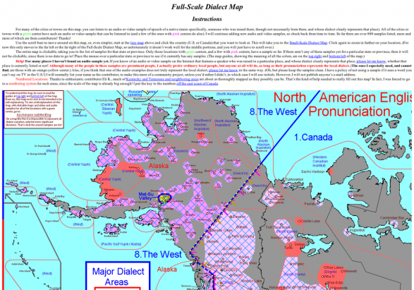 North American Dialect Map
