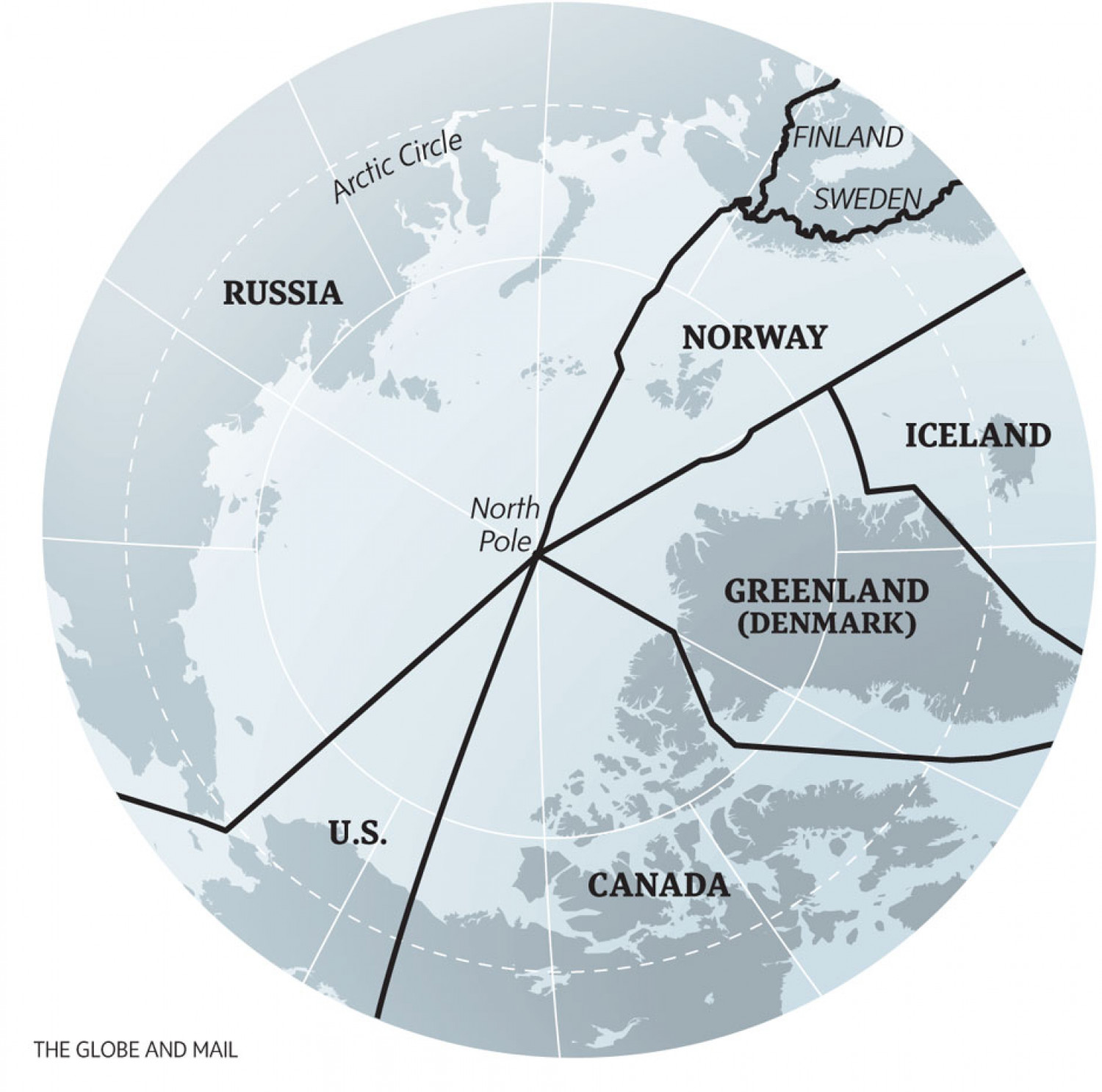 North Pole Infographic