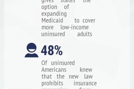 Obamacare Loses Support Among the Uninsured Infographic