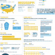 Obesity In America, By The Numbers Infographic