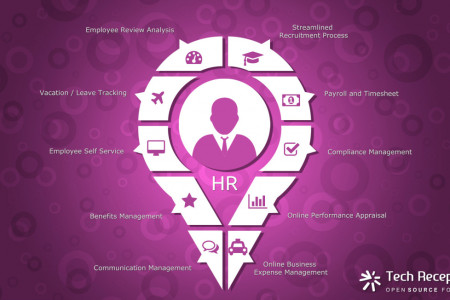 Odoo ERP Human Resource System Solution Infographic Tech Receptives Infographic