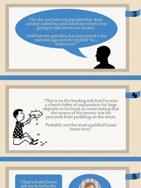 Of Realtors and Home Buyers: 7 Real-Life Stories  Infographic