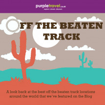 Off the beaten track, the best in wild travel Infographic