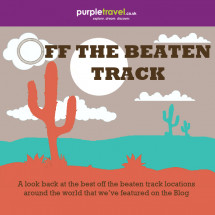 Off The Beaten Track Travel Infographic
