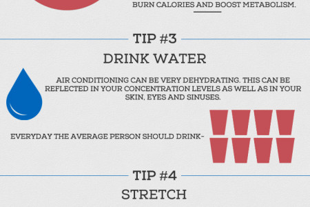 Office Health Tips Infographic