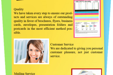 Offset Printing and Mailing Services in Los Angeles Infographic