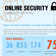 Online Security - Who Do You Trust? Infographic