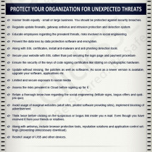 Online Security Threats report of 2012 Infographic