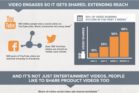 Online Video: Delivering Brand Awareness and ROI Infographic