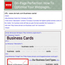 On-Page Perfection: How to Optimise Your Webpages Infographic