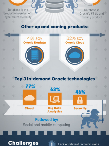 Database is still king! Infographic