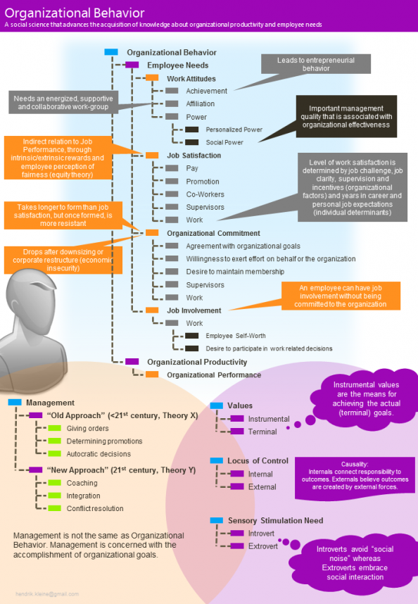Organizational Behavior Infographic