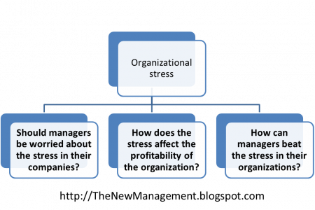 Organizational stress Infographic
