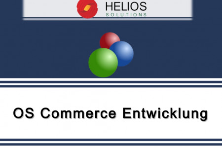 OS Commerce Entwicklung Infographic