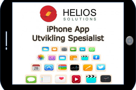 Outsourcing iPhone App Utvikling Infographic
