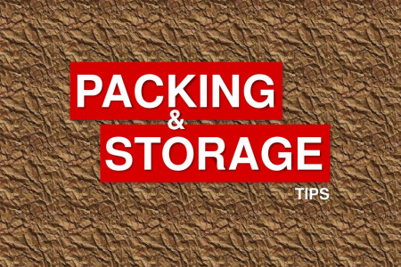 Packing and Storage Tips by Olympic U-Stor Infographic