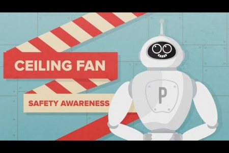 Panasonic - Ceiling Fan (Safety Awareness)  Infographic