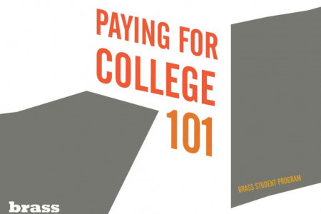 Paying for College Infographic