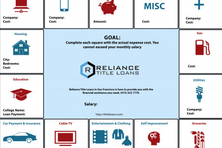 Personal Finance Management Infographic