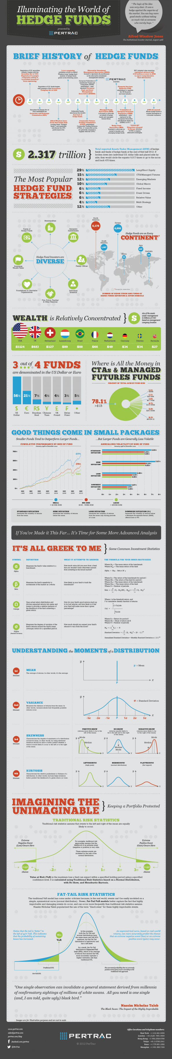 Illuminating the World of Hedge Funds Infographic