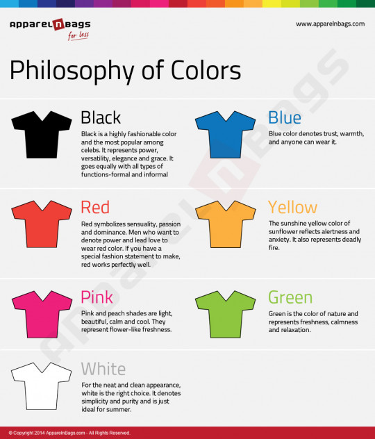 Philosophy of Colors!