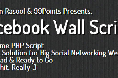PHP Social Networking Wall Script  Infographic