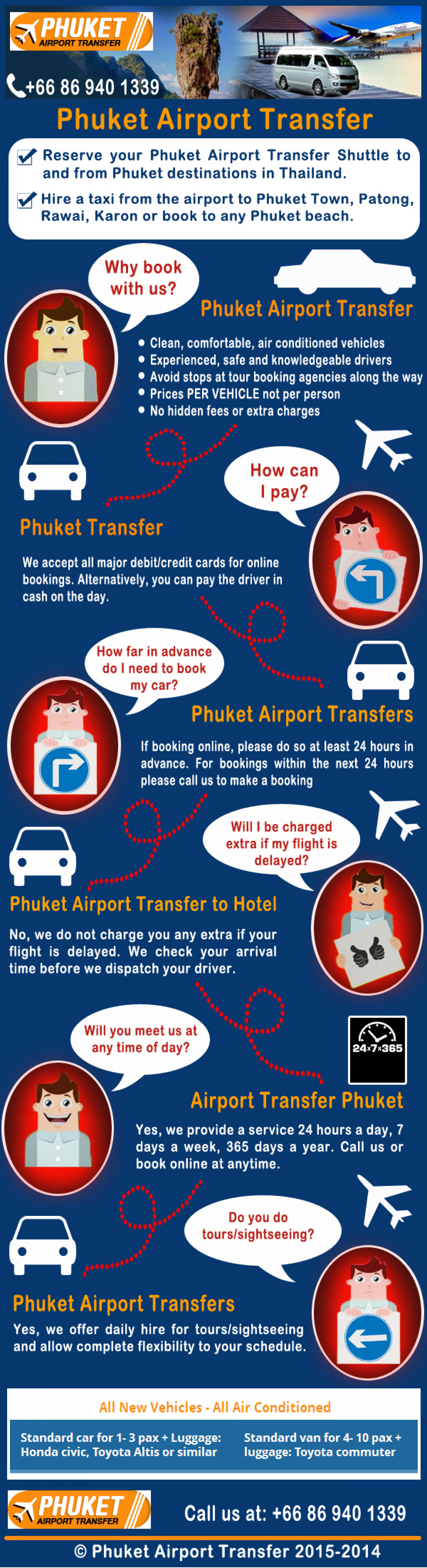 Phuket Airport Transfer Infographic