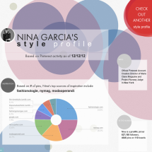 Pinterest Style Profile Infographic Infographic