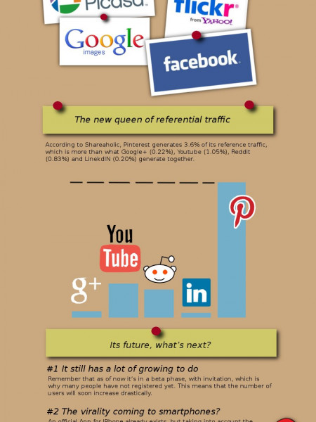 Pinterest Why should we be interested? Infographic